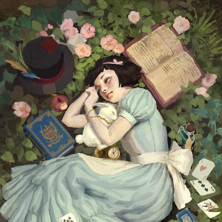 Glaiza Visits Wonderland: Alice Liddell