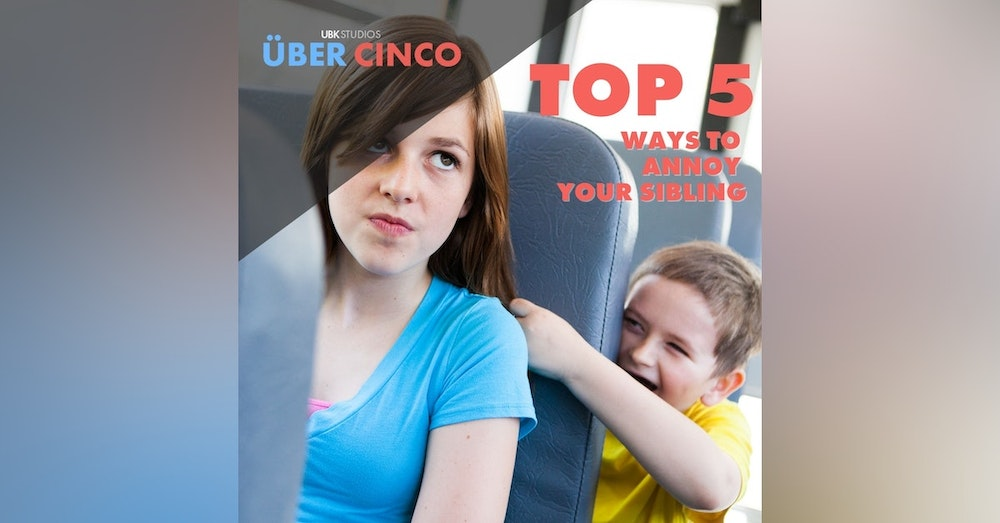 Top 5 Ways to Annoy Your Sibling