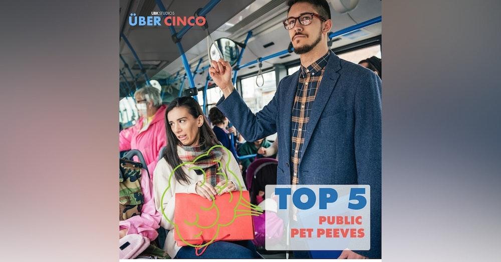 Top 5 Public Pet Peeves