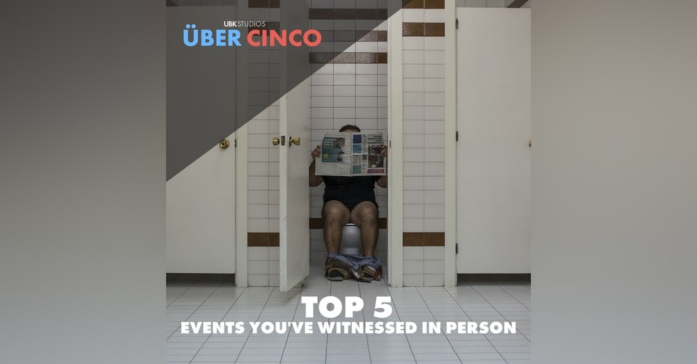 Top 5 Events You've Witnessed In Person