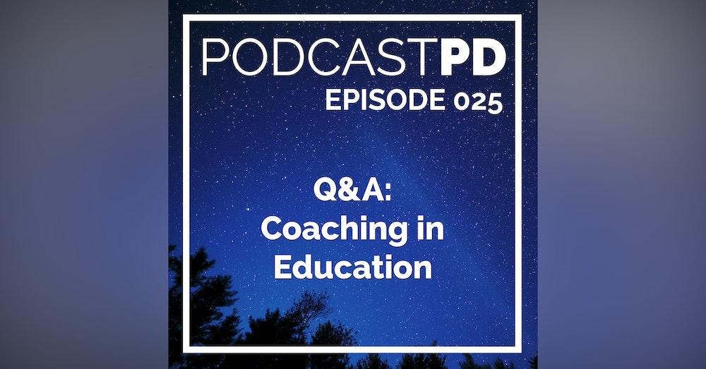 Q&A: Coaching in Education