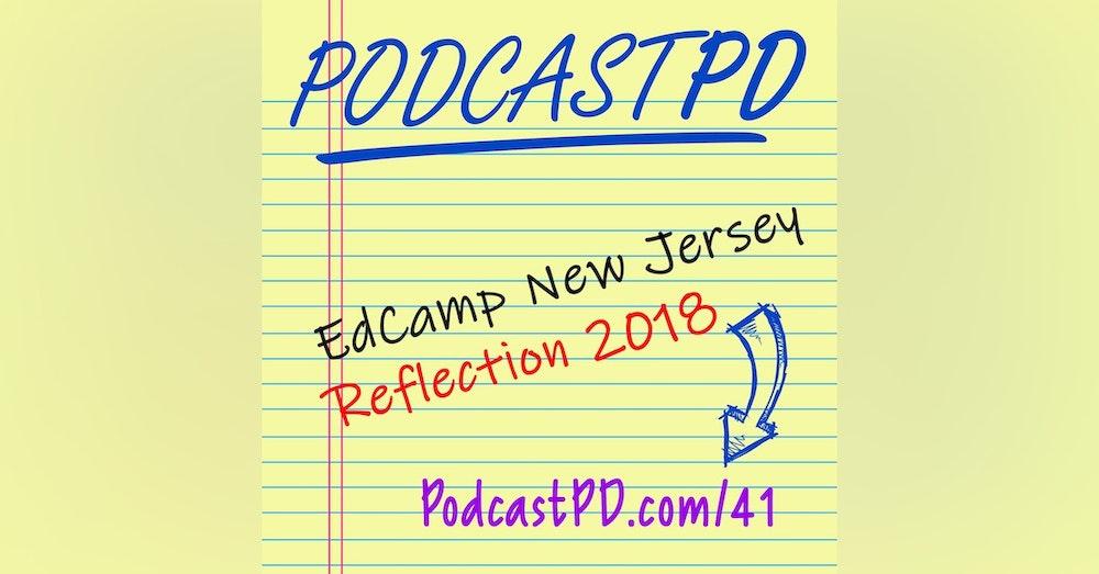 EdCampNJ Reflection - PPD041