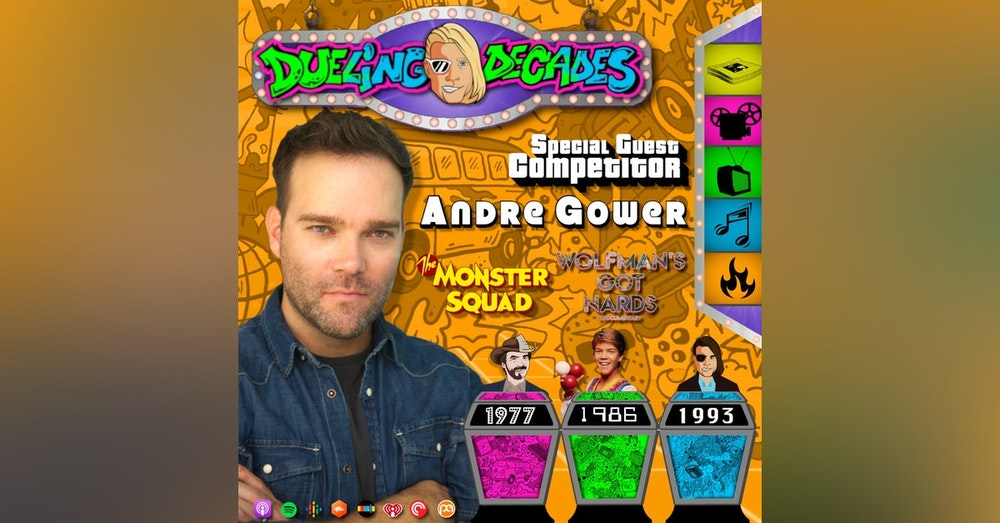 The Monster Squad's Andre Gower proves he's got nards when he competes in this battle between 1977, 1986 & 1993!