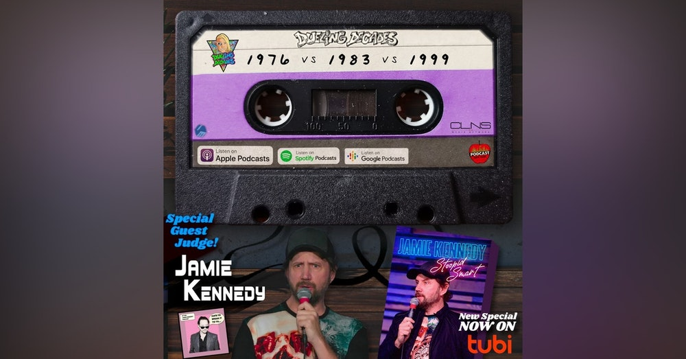 Be Stoopid Smart & experience guest judge Jamie Kennedy on this three decade disaster from the month of June.