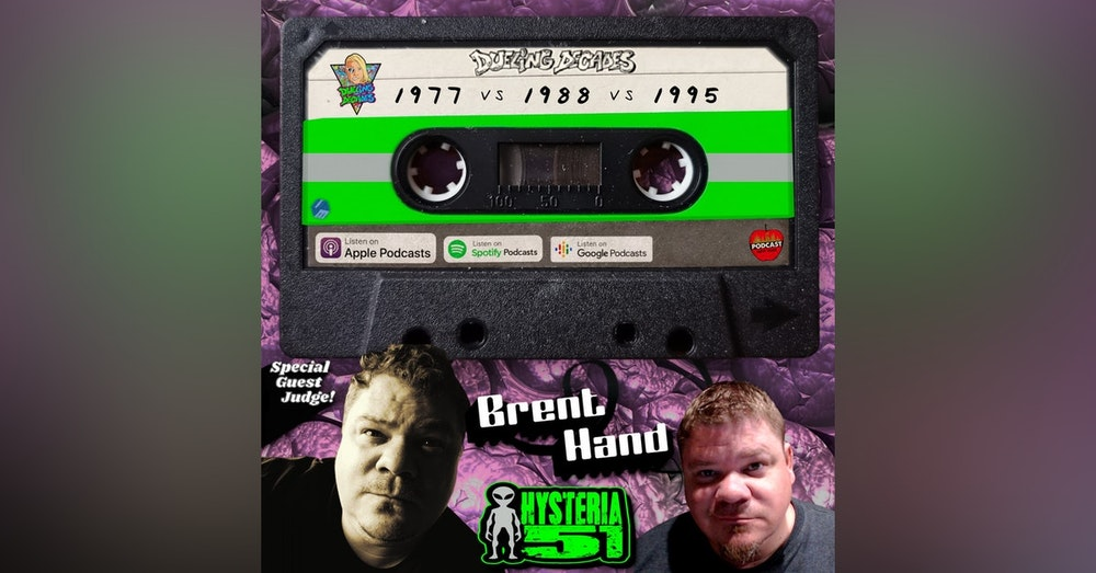 Brent Hand from the Hysteria 51 Podcast judges this episode of the unexplained between 1977, 1988 & 1995!