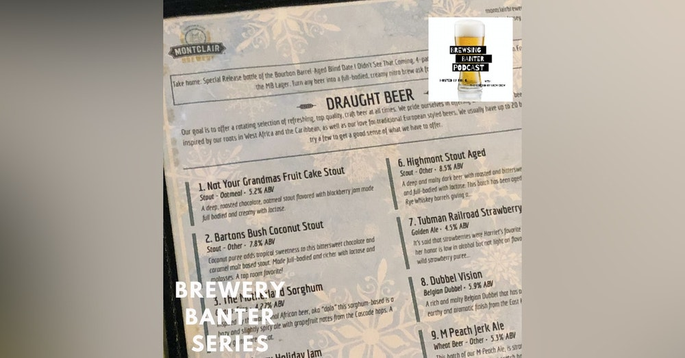 Brewery Banter Series - Montclair Brewery
