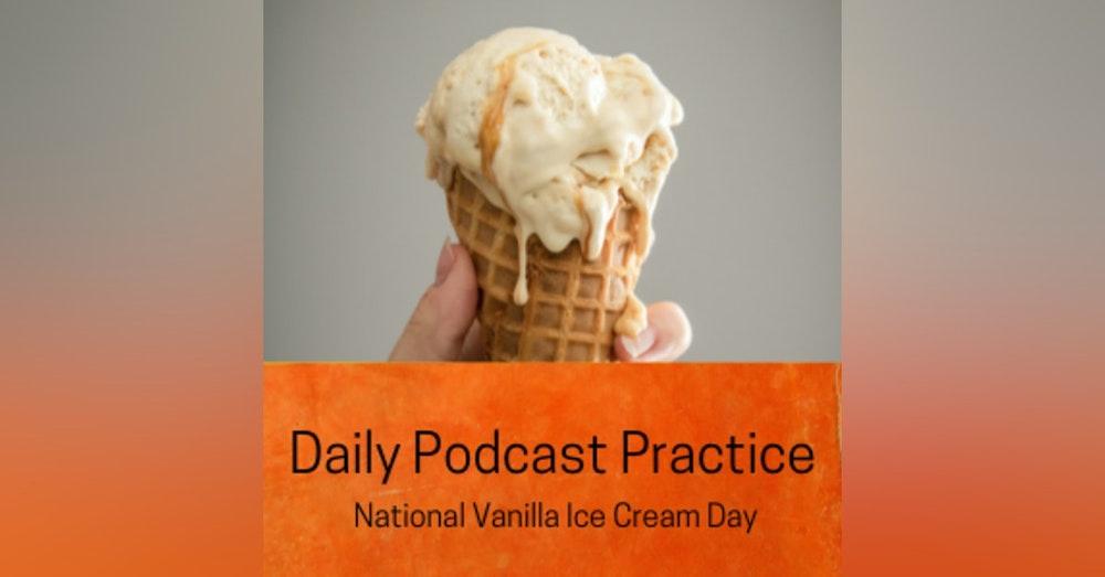 Alison Krouse is Transcendent on National Vanilla Ice Cream Day