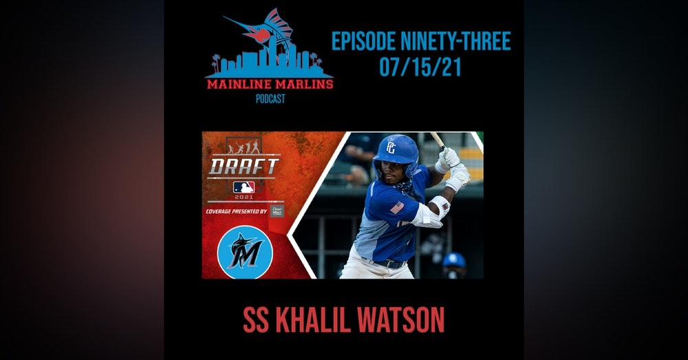 Episode 93 of the Mainline Marlins with Tommy Stitt & Red Berry