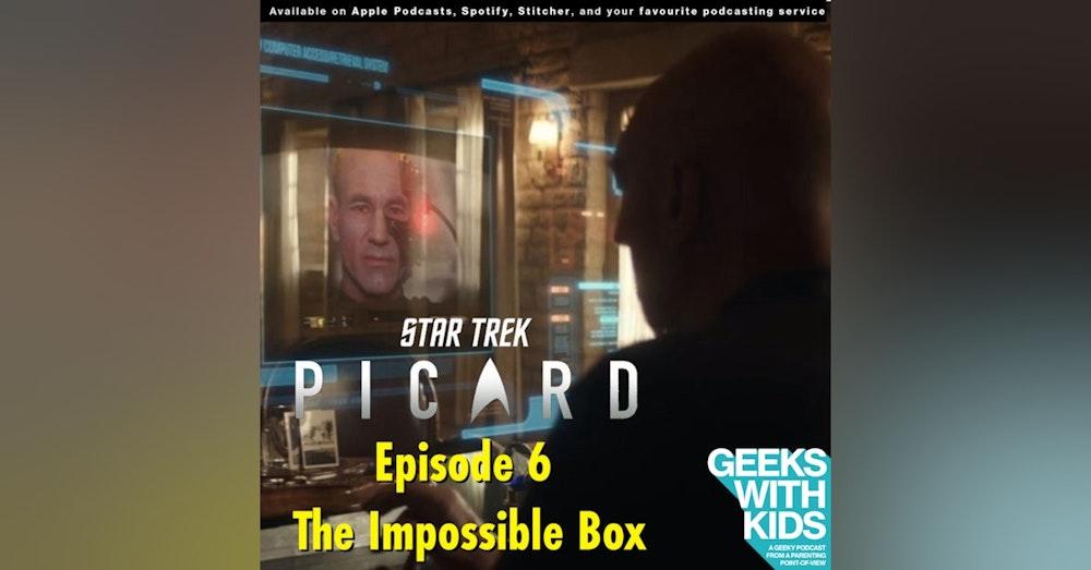 "BONUS - The Geeks React to ""Star Trek: Picard"" - S01E06 - The Impossible Box"