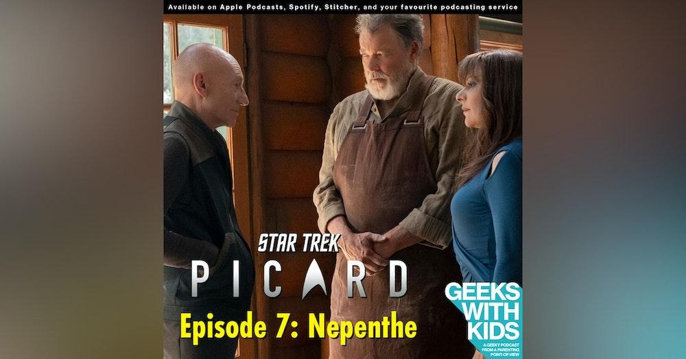 "BONUS - The Geeks React to ""Star Trek: Picard"" - S01E07 - Nepenthe"