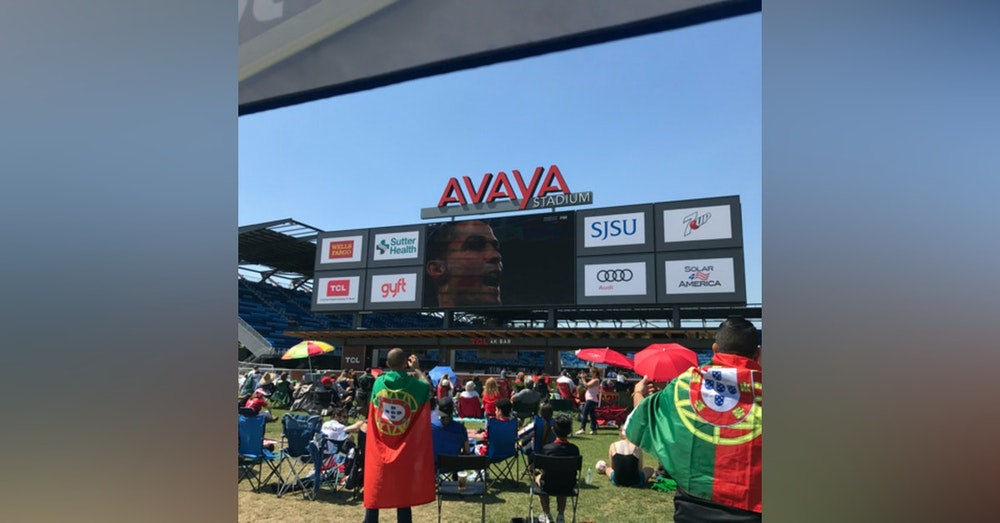 #8: LIVE from Portugal Viewing Party at Avaya Stadium