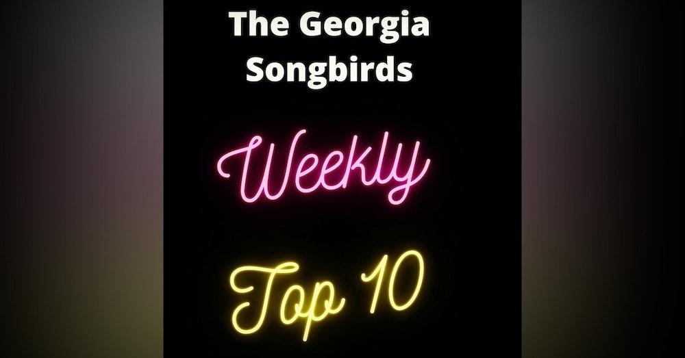 Weekly Top 10 Countdown Week 3 ending August 14th