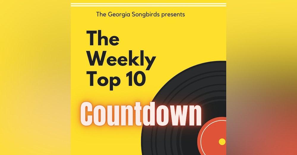 The Georgia Songbirds Weekly Top 10 Countdown Week 13