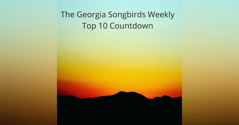 The Georgia Songbirds Weekly Top 10 Countdown Week 19