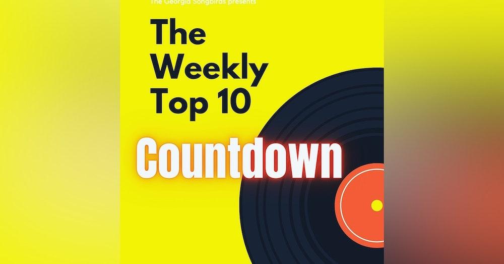 The Georgia Songbirds Weekly Top 10 Countdown week 21