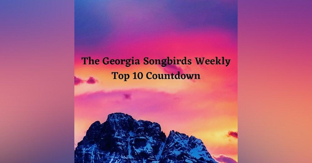 Georgia Songbirds Weekly Top 10 Countdown Week 23