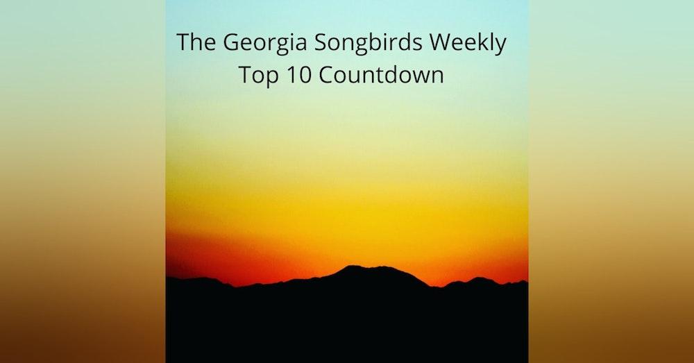 The Georgia Songbirds Weekly Top 10 Countdown Week 24