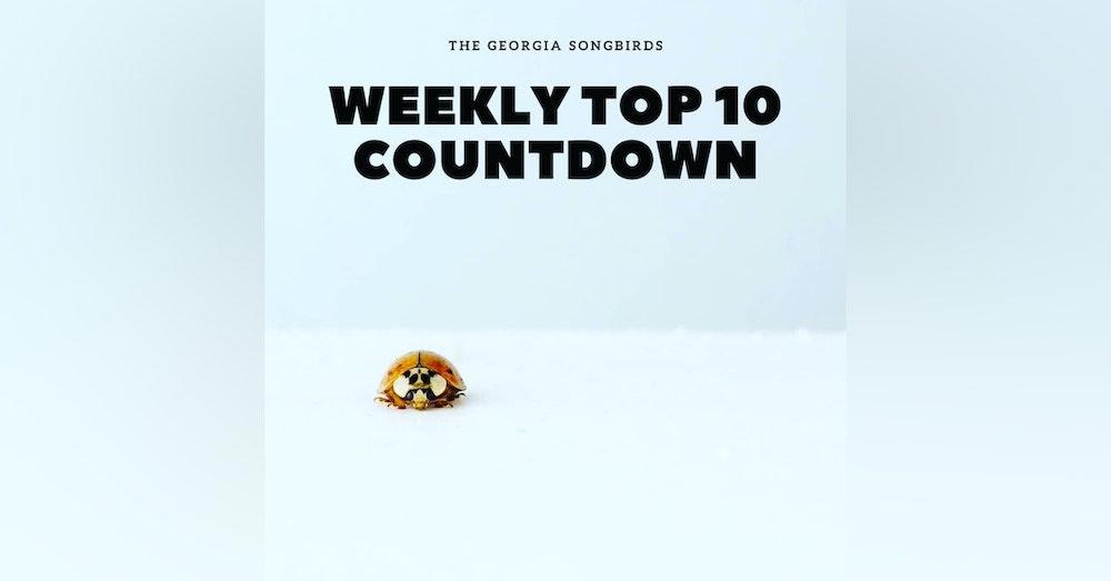 The Georgia Songbirds Weekly Top 10 Countdown Week 34