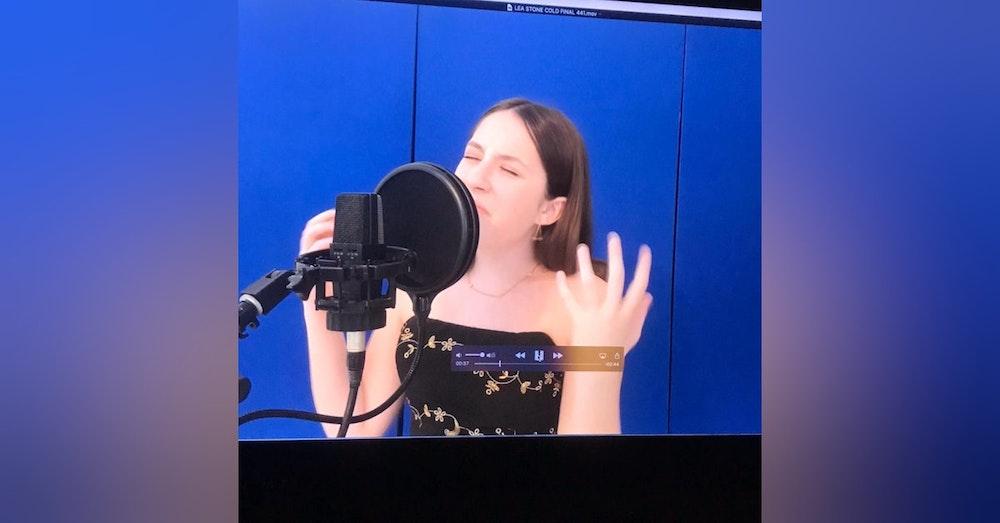 "Lea Garza live from ""The Digital Bird's Nest"""