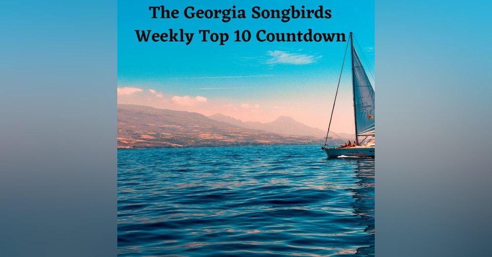 The Georgia Songbirds Weekly Top 10 Countdown Week 37