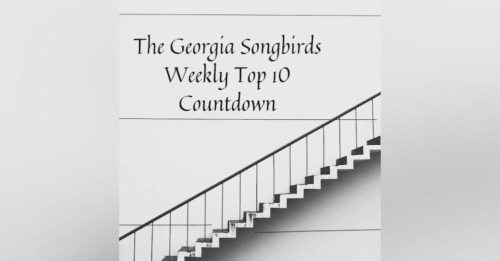 The Georgia Songbirds Weekly Top 10 Countdown Week 45