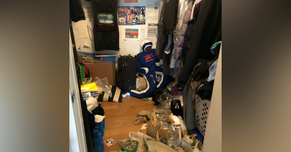 Closet Cleaning Podcast - Phase 1 (Cleaning Out Garbage).