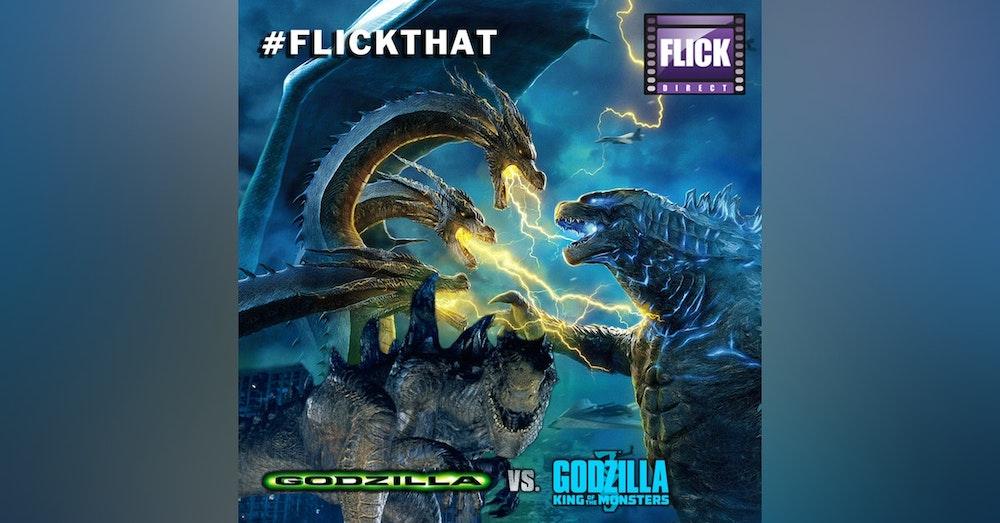 FlickThat Takes on Godzilla
