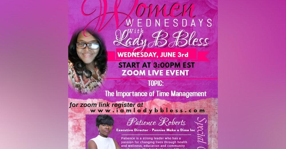 #2 June 3, 2020 - (Patience Roberts) Women Wednesdays
