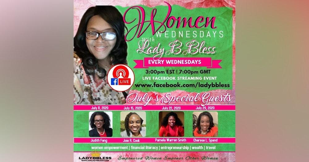 #7 July 15, 2020 - (Joie R Cook) Women Wednesdays