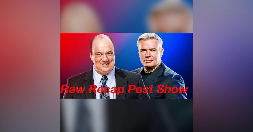 Can Paul Heyman help Monday night Raw??? Raw Recap