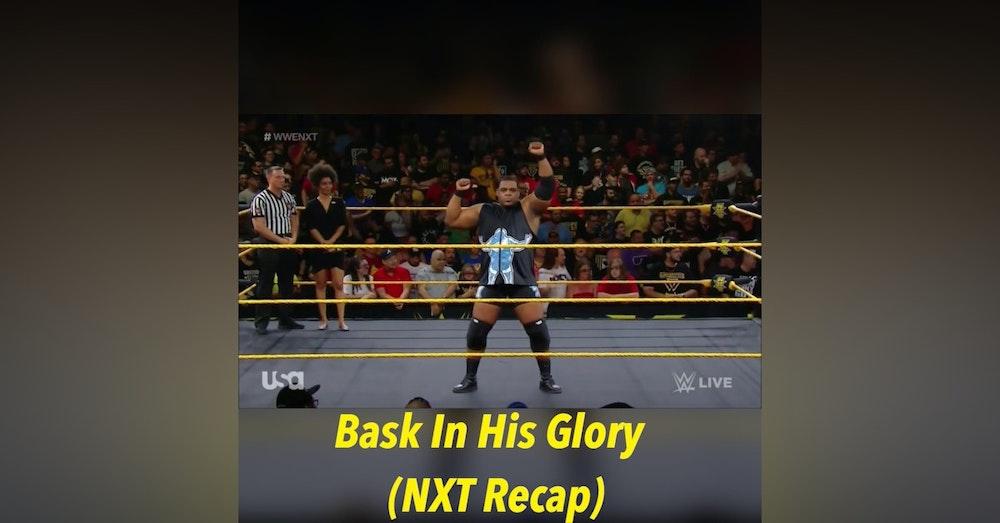 Bask In His Glory (NXT Weekly Recap)