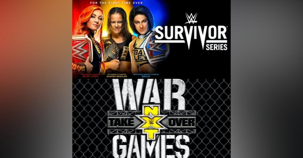 War Games/ Survivor Series 2019 Predictions Show