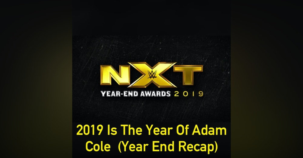 2019 Is The Year Of Adam Cole ( Year End Recap)