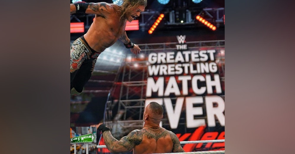 Was This The Greatest Wrestling Match Ever??