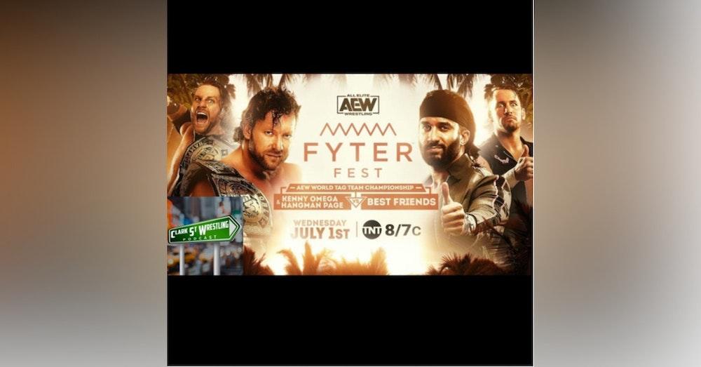 Kenny Omega Goes Super Saiyan again (Fyter Fest Night 1 Recap)