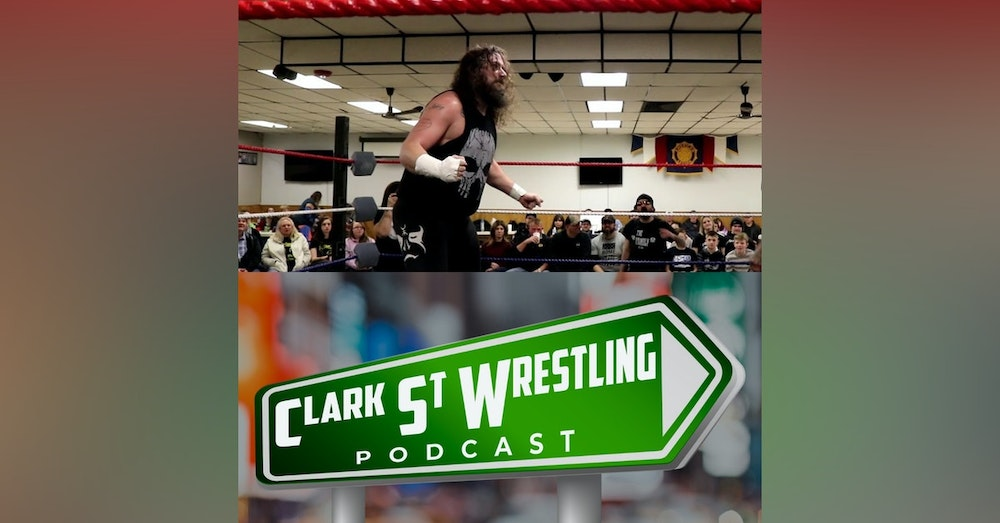 The Bearded Bruiser Talks Wrestling With Clark St. ( Max Holiday Interview)