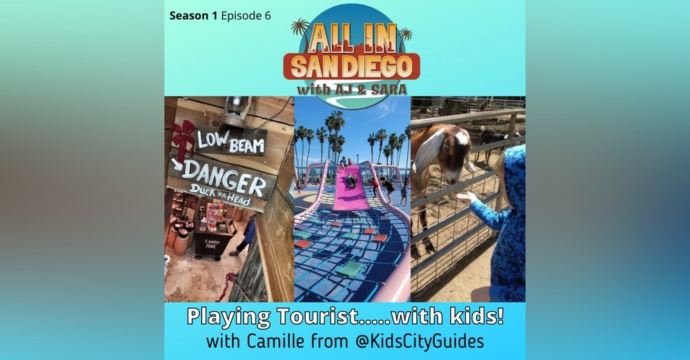 ALL IN on Playing Tourist with Kids! w/ @Kidscityguides