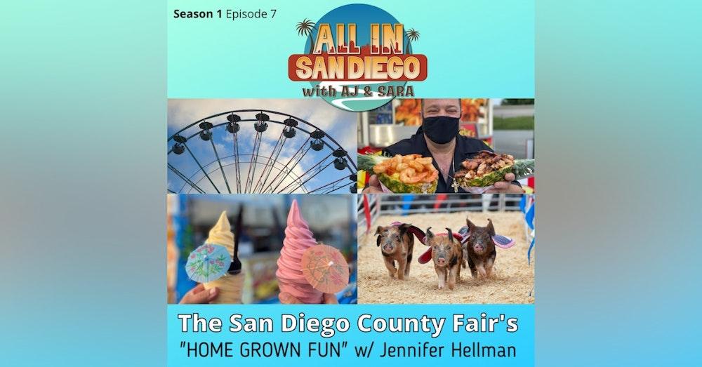 "ALL IN on The SD Fair's ""Home Grown Fun"""
