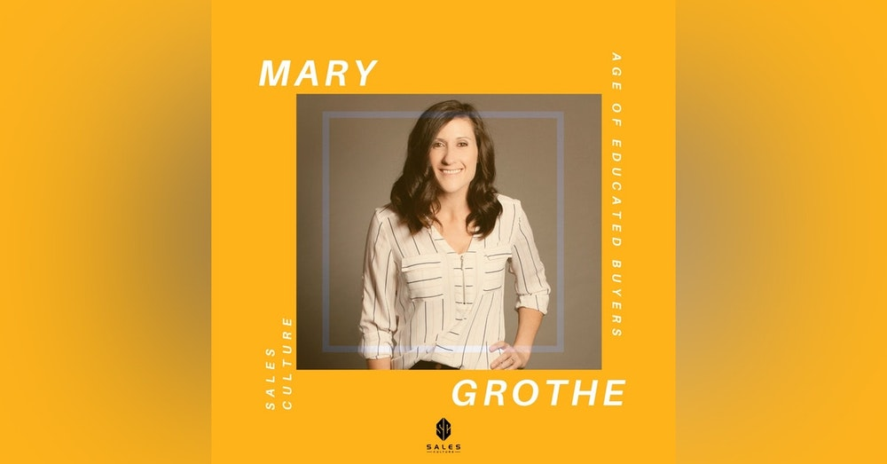 125. How to Make $60k Off Podcast Guesting | Mary Grothe - SalesBQ