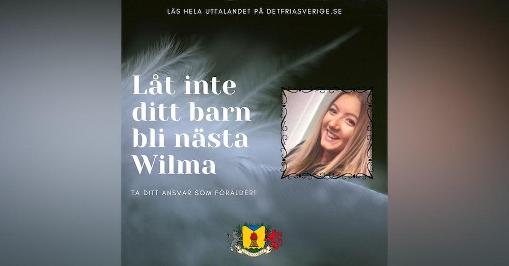 Låt inte ditt barn bli nästa Wilma