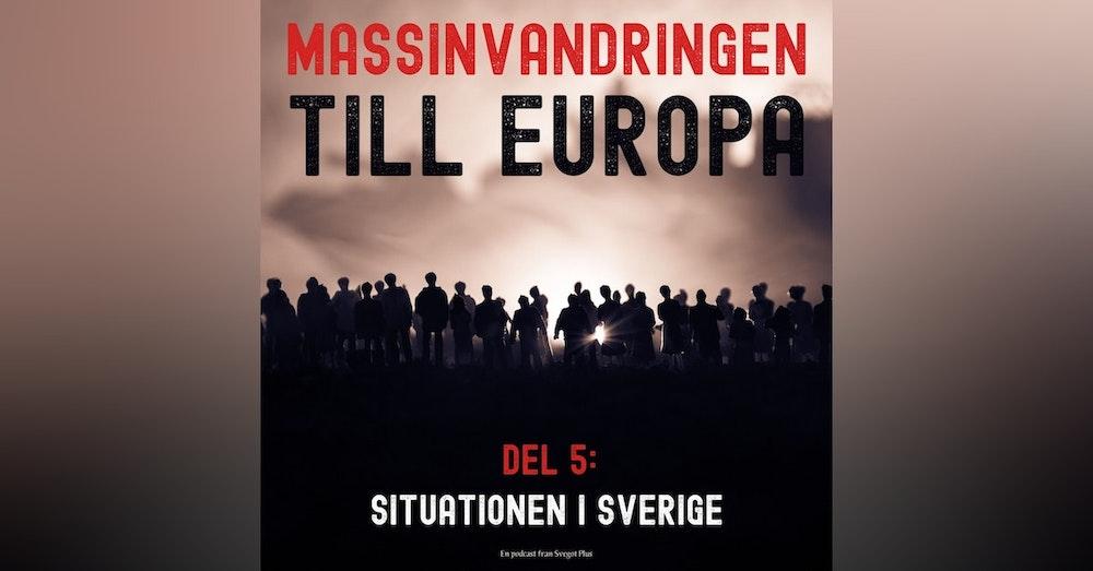 Om massinvandringen till Europa (Del 5: Situationen i Sverige)
