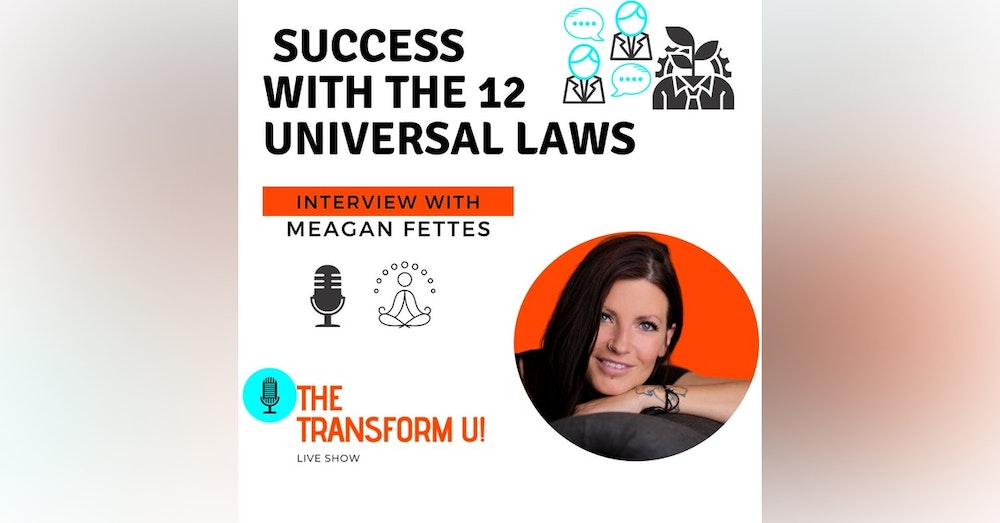 Discovering Success with the 12 Universal Laws with Meagan Fettes
