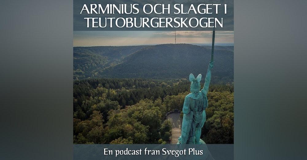 Om Arminius och slaget i Teutoburgerskogen