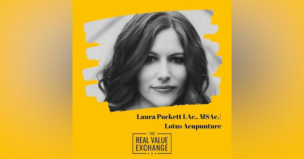 107.  Laura Puckett Podcast | Lotus Acupuncture Charlotte