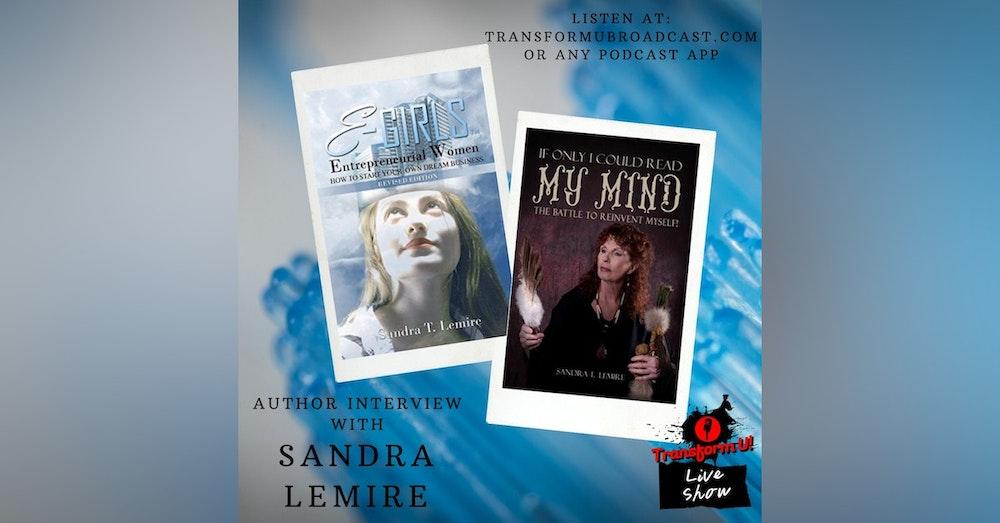 Episode 46: Author Interview with Entrepreneur Sandra Lemire