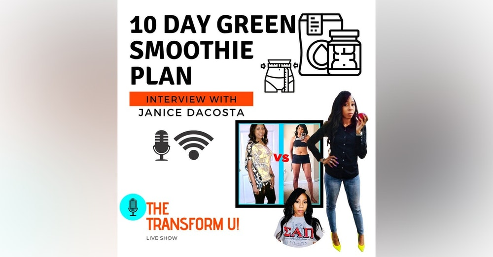 10 Day Green Smoothie Plan & How to Eat and Think Healthy