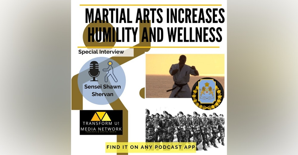 How Martial Arts Increases Humility and Improves Wellness with Sensei Shawn Shervan