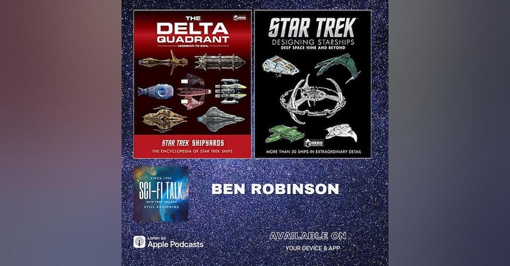 Byte Ben Robinson On New Star Trek Books