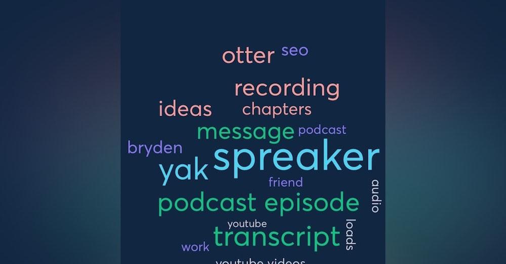 How I am doing stupid simple Podcast SEO