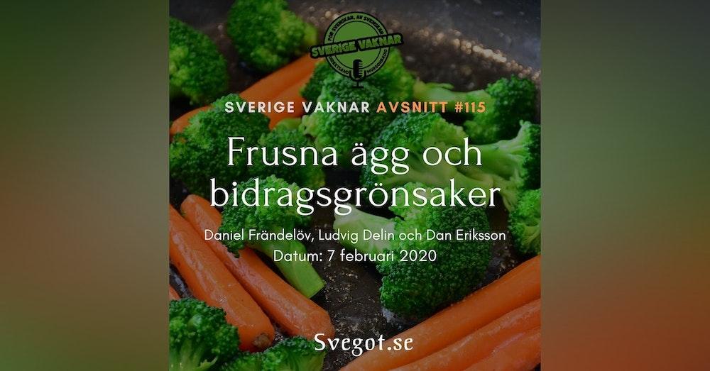 115. Frusna ägg och bidragsgrönsaker